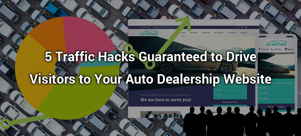5 Traffic Hacks Guaranteed to Drive Visitors to Your Auto Dealership Website