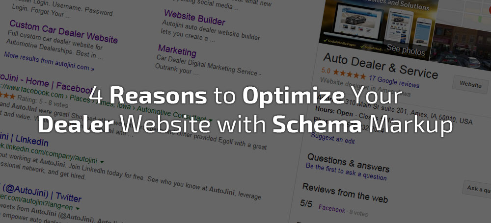 4 Reasons to Optimize Your Dealer Website with Schema Markup